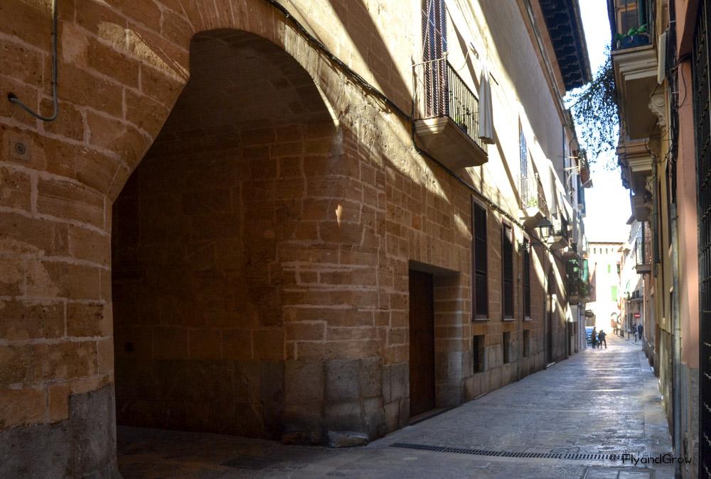 Calle de la judería de Palma