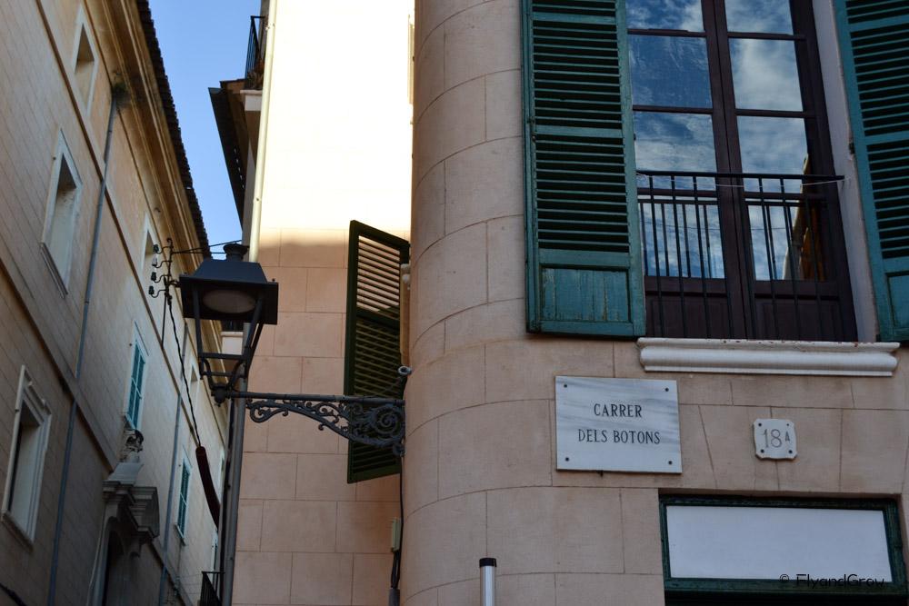 Calle de la judería de Palma de Mallorca