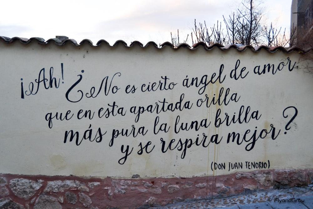 Texto del poema Don Juan Tenorio en Lerma