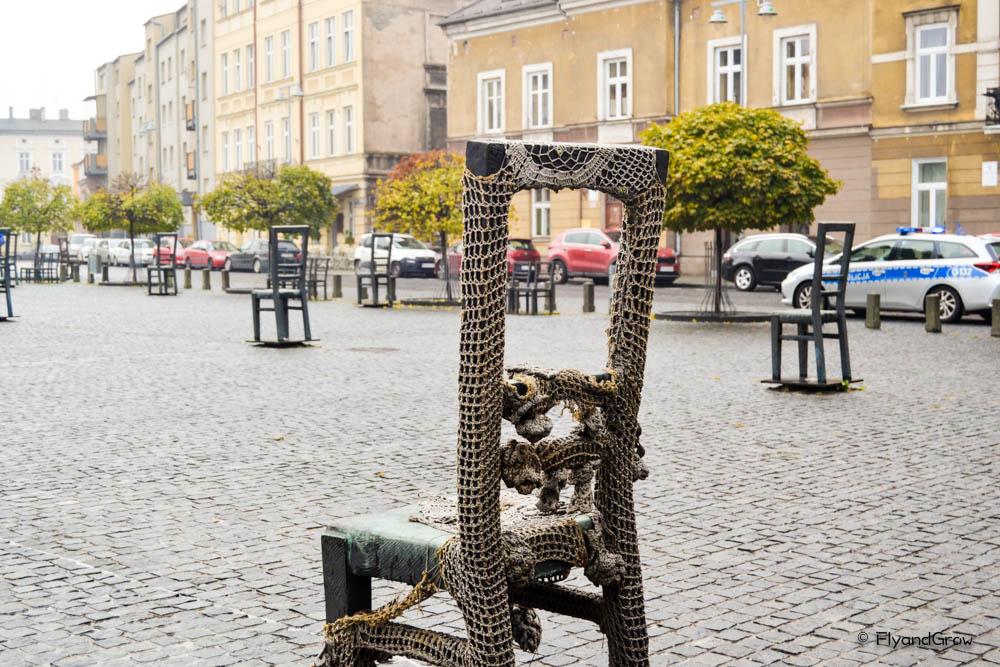 sillas gueto Cracovia