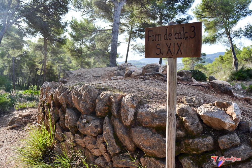 Horno de Cal en Mallorca