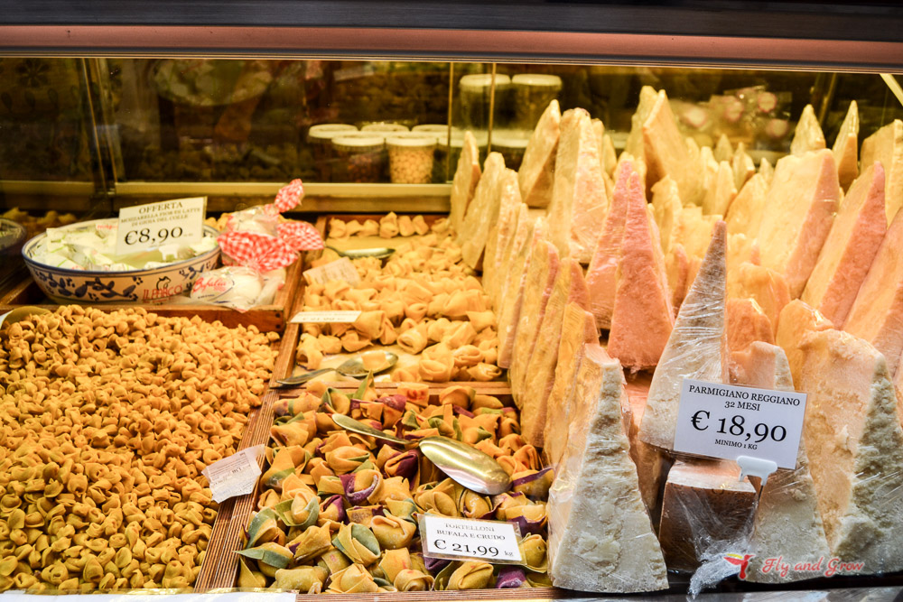 quesos de Parma