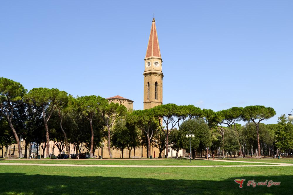 Fortaleza de Arezzo, imprescindible
