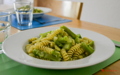Receta de pasta con brócoli y patatas
