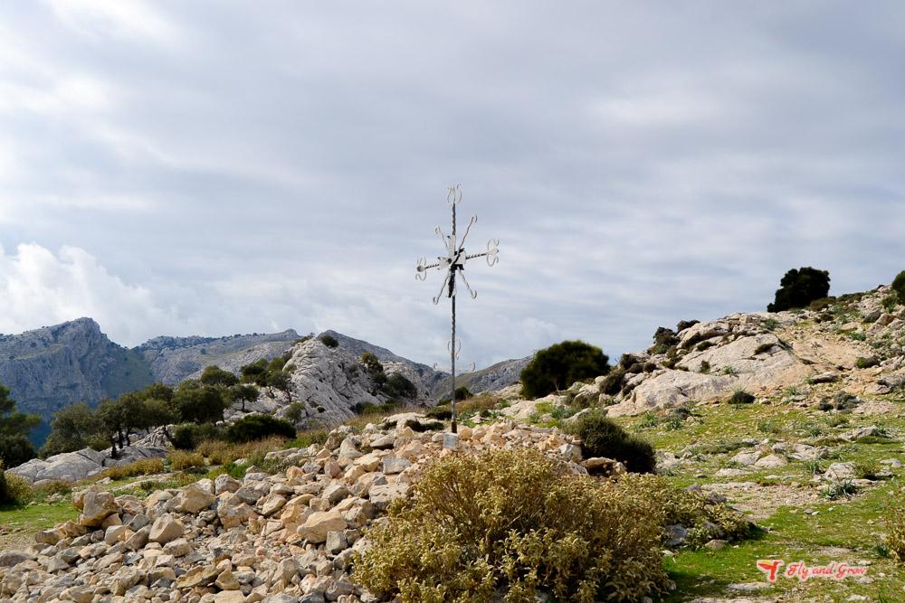 Indicaciones durante la ascensión al Puig de L'Ofre