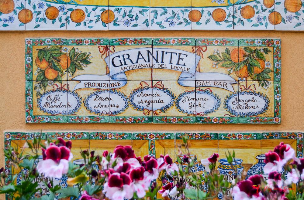 granita Bambam bar Taormina