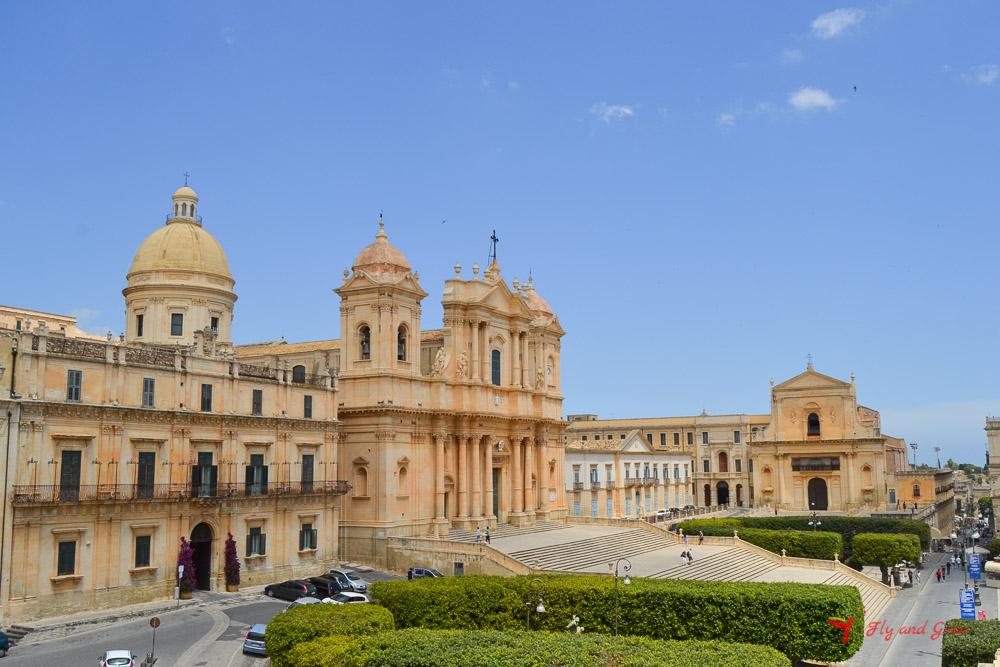 arte barroco en la Costa Este de Sicilia