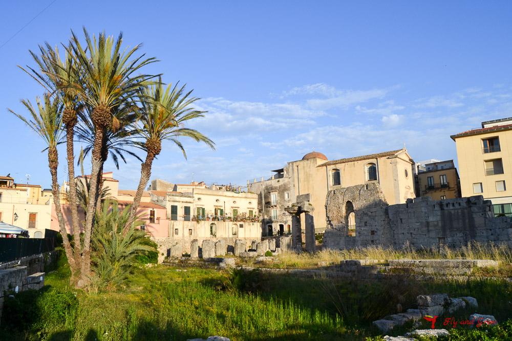 restos romanos en Siracusa