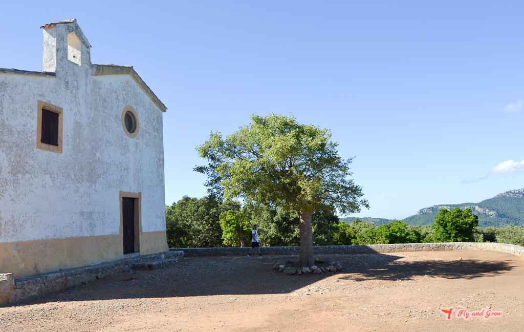 ruta a la ermita de Maristella
