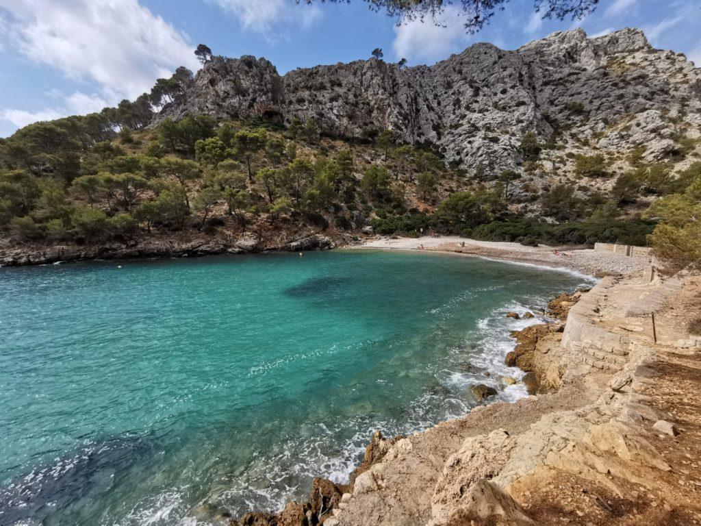 cala murta en Mallorca