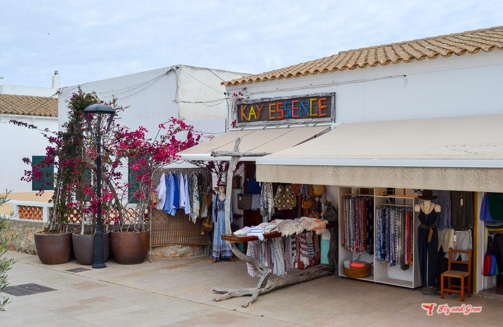 tienda hippie en Formentera