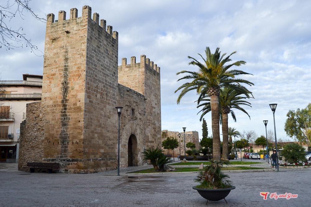 entrada a Alcudia, Mallorca