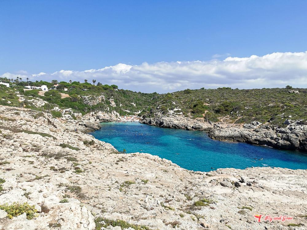 cala binidali Menorca