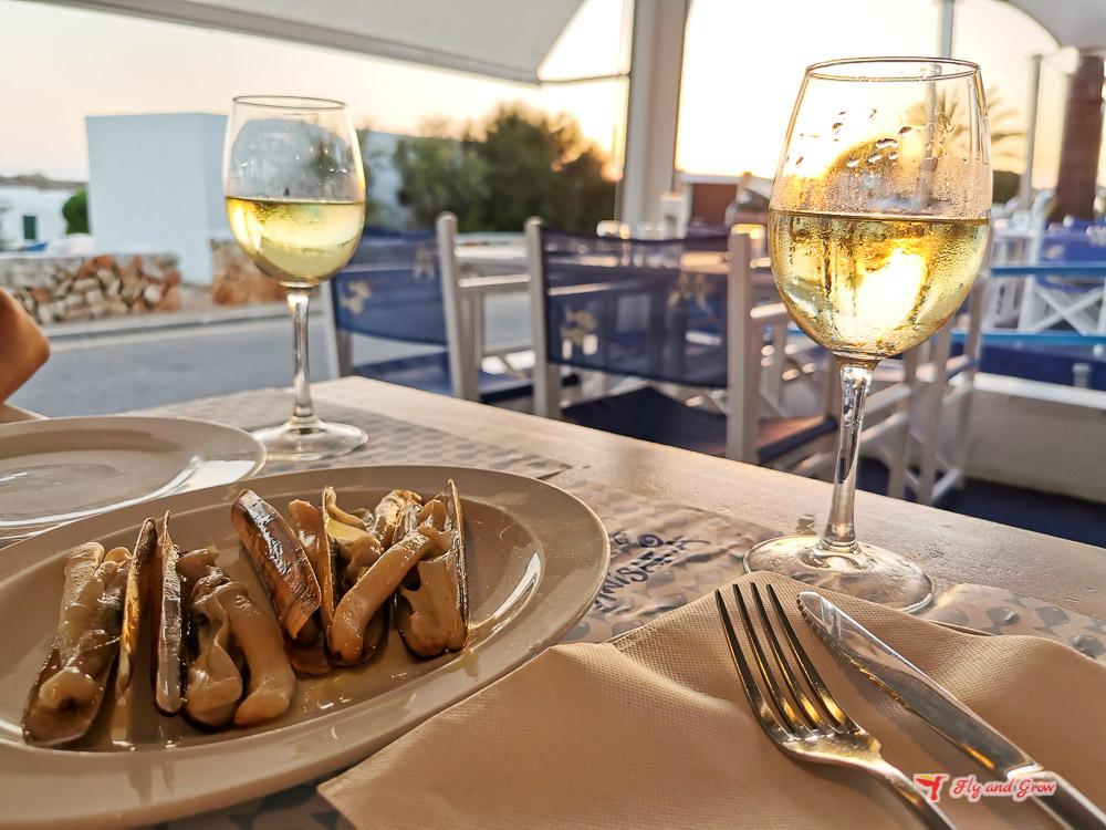 comer en Menorca