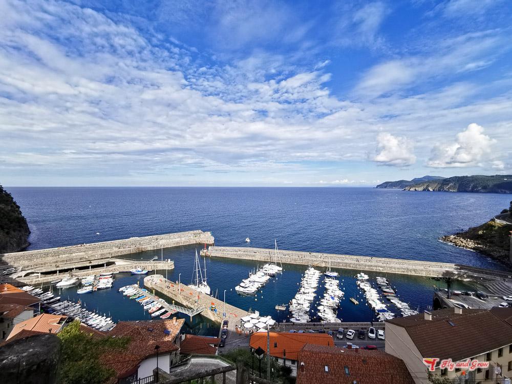 Elantxobe, costa de Vizcaya