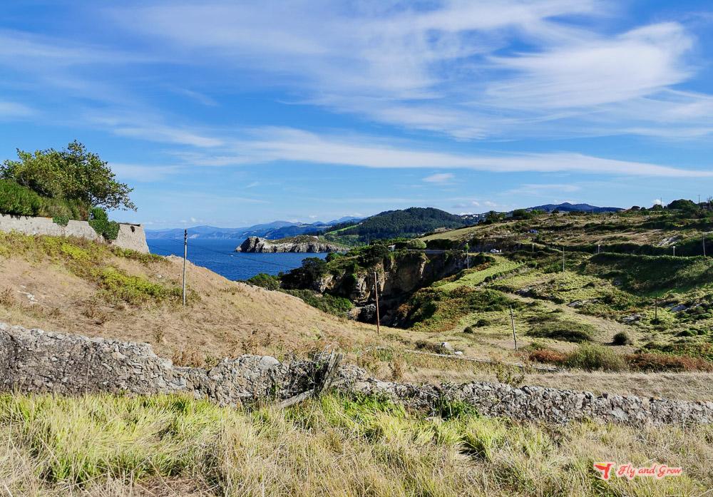 ruta por la costa de Vizcaya