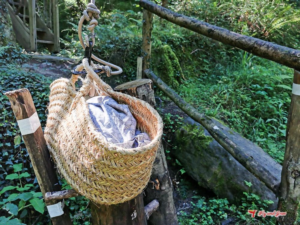 experiencia en las cabañas de los árboles de país vasco